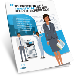 10 Factors Fanatical Copier Repair Service eBook