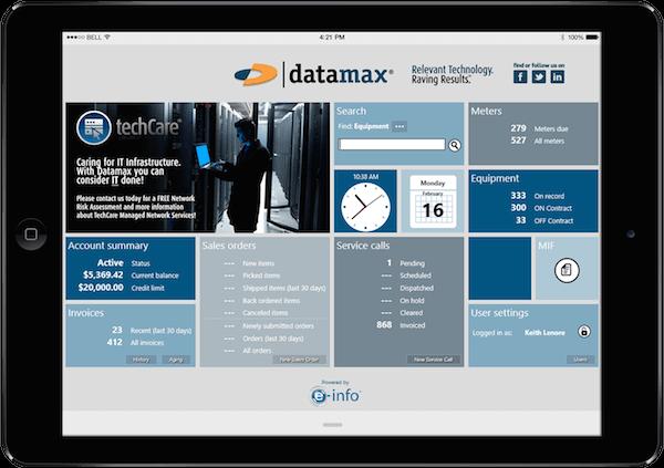 Datamax e-Info Customer Support
