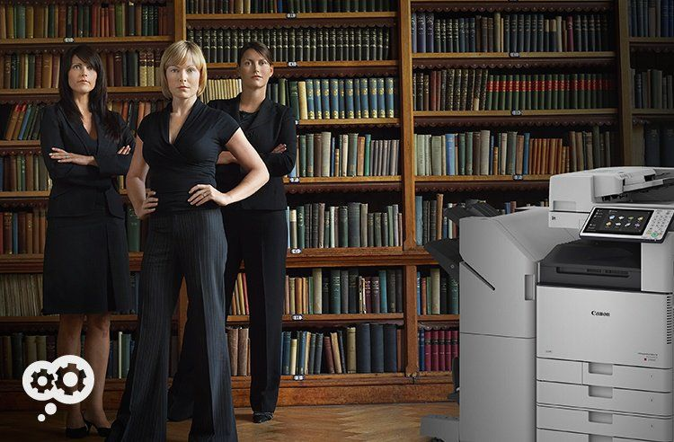 Law firms prefer Canon copiers over other brands - and it's easy to see why.