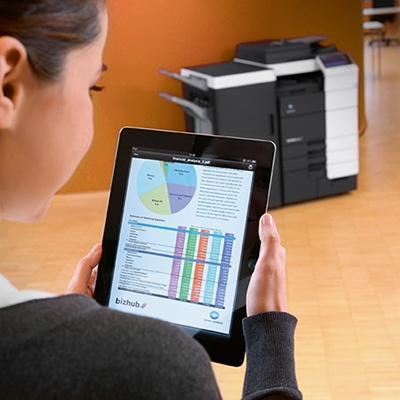Mobile Printing from a Tablet